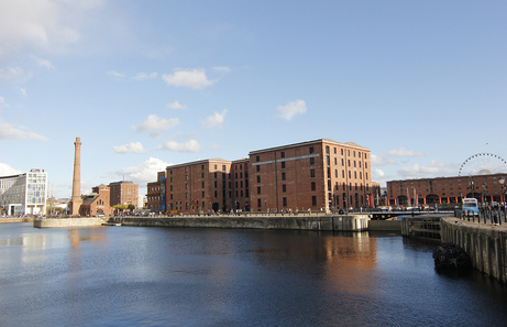 Albert Docks en Liverpool