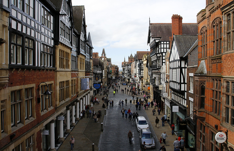 East Gate Street en Chester