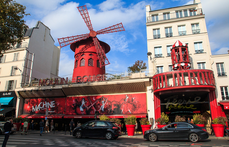 Que hacer en Paris Moulin Rouge