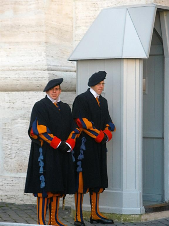 Guardia Suiza - Vaticano