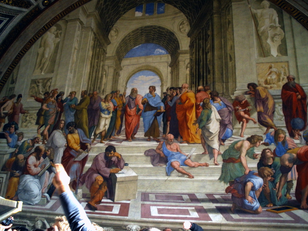 Fresco de Rafael - Vaticano
