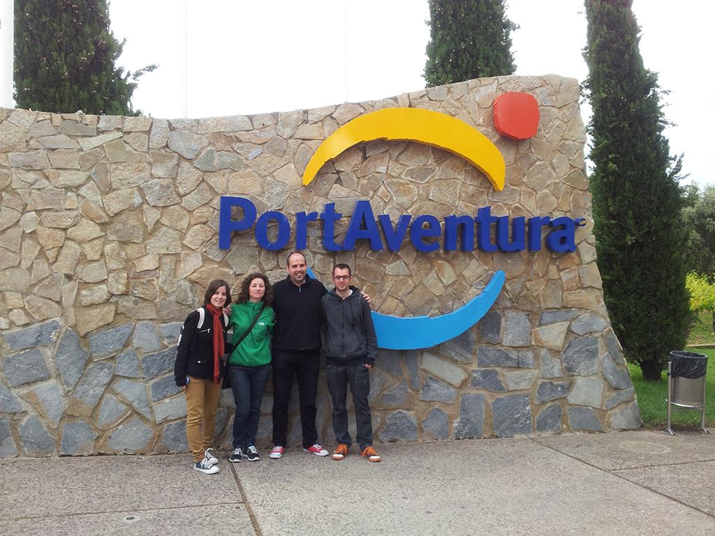 Bloggers en Port Aventura