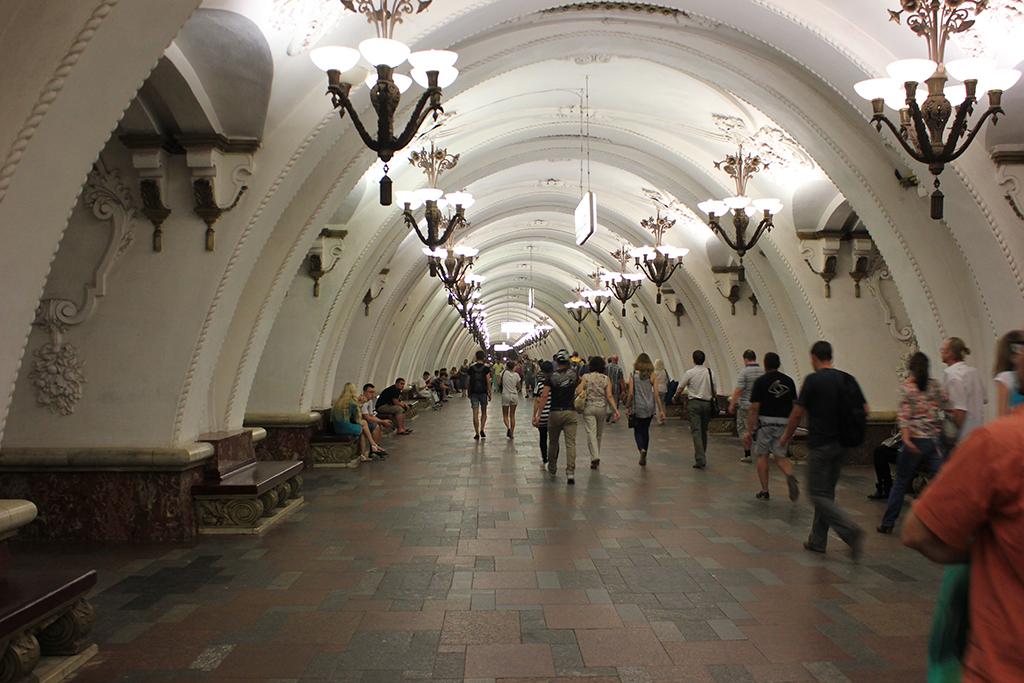Arbatskaya - Metro Moscu