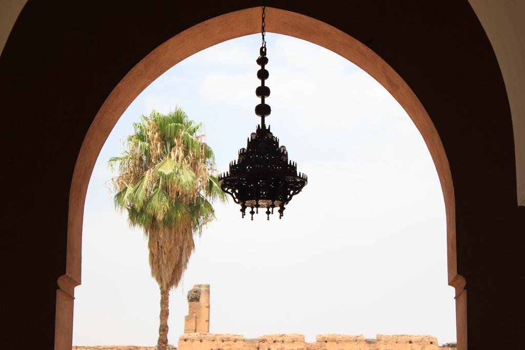 Arcada del palacio Badi