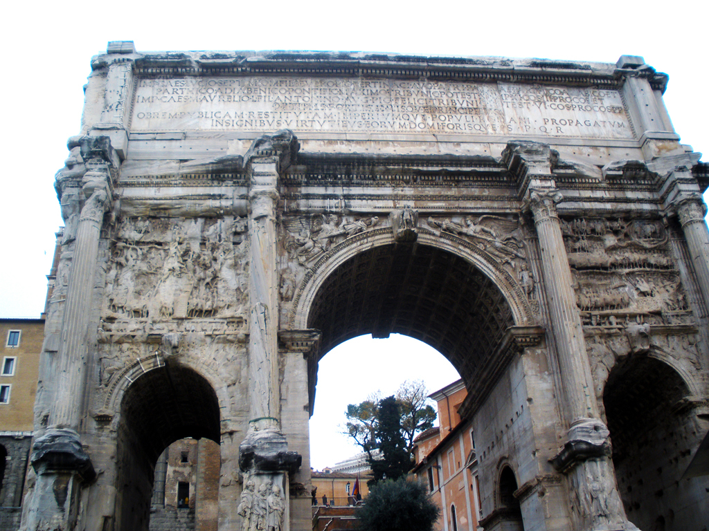 Arco de Constantino - Foro romano