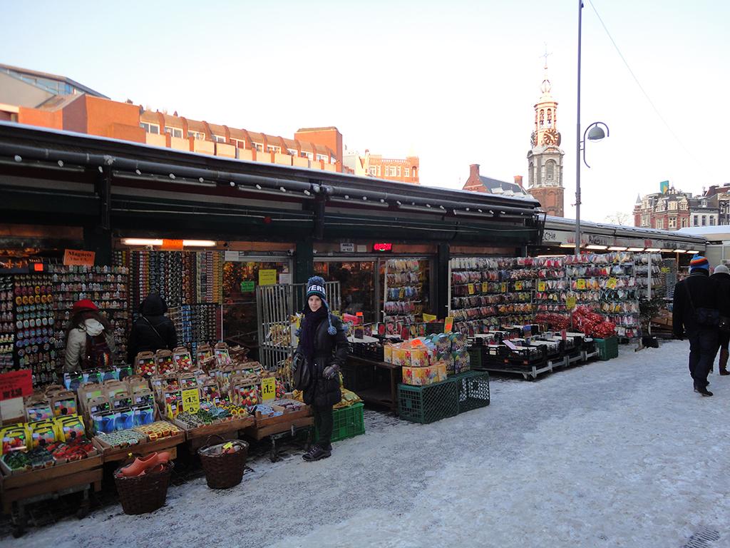 Bloenmarket de Ámsterdam