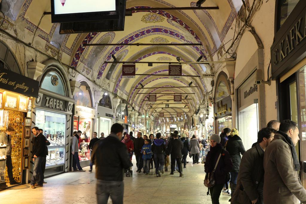 Calle principal del Gran Bazaar