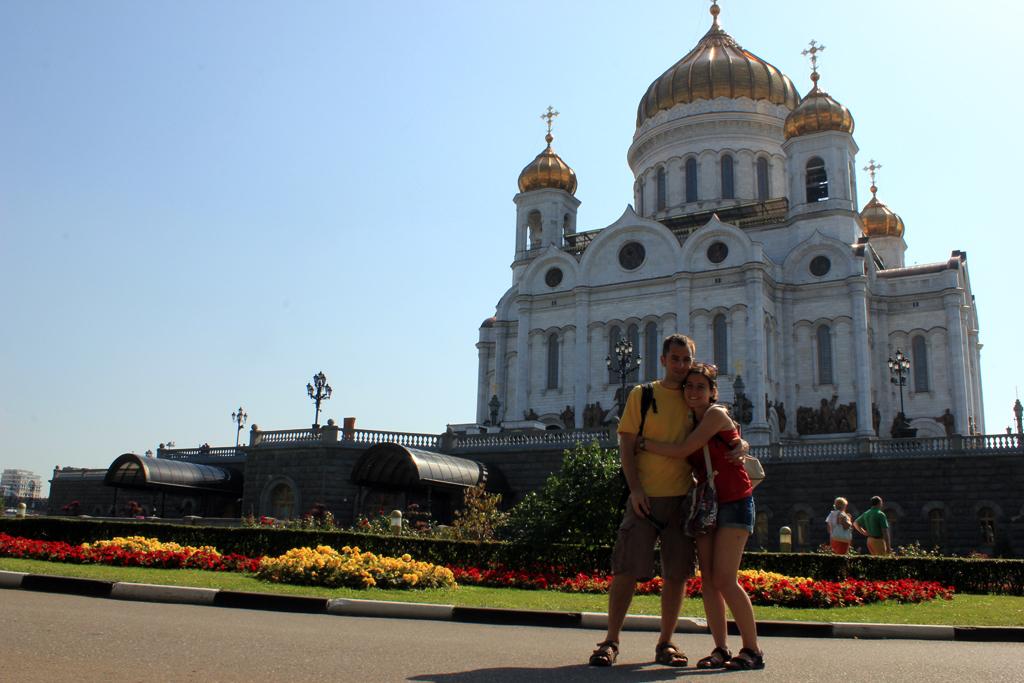 Catedral de Cristo Salvador en Moscu
