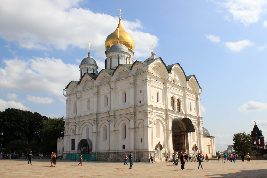 Catedral del Arcangel - Kremlin de Moscu