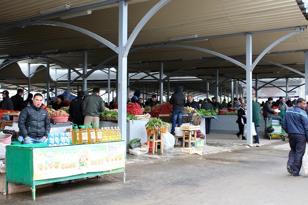 Chorsu Bazaar en Tashkent