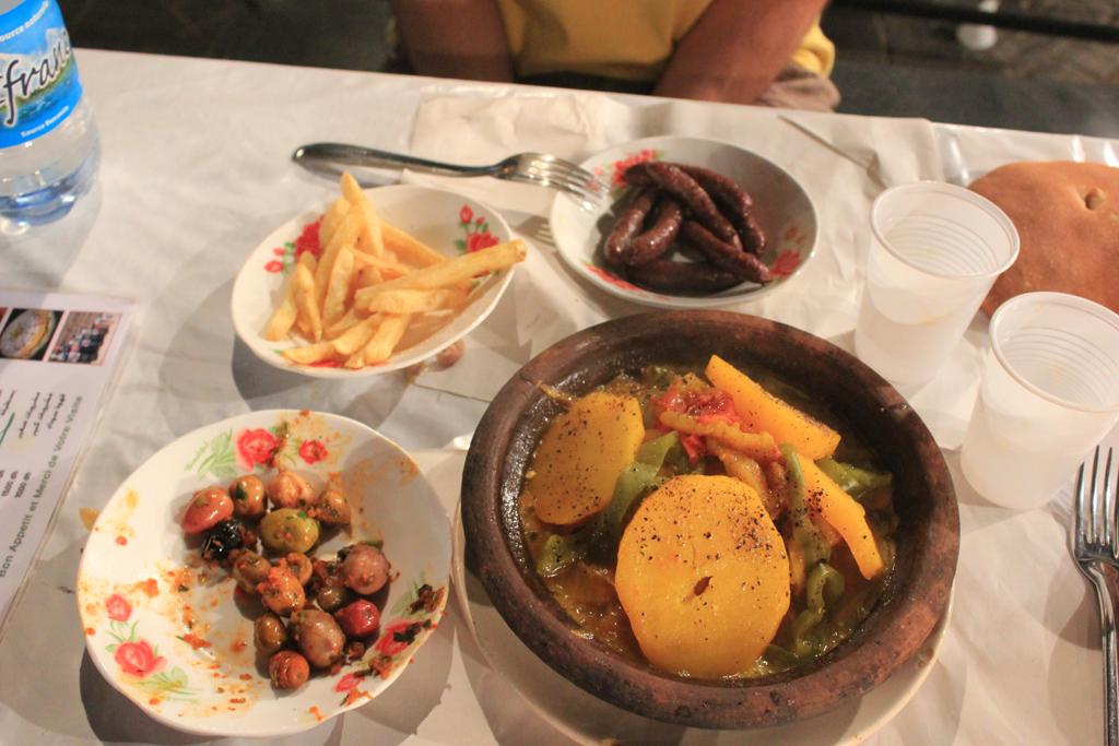 Comida tipica de Marruecos - Tajin