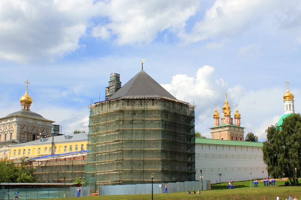 Complejo de Sergiev Posad en obras
