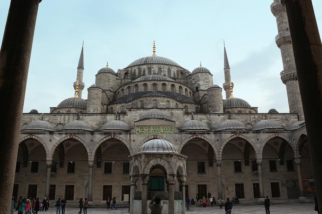 Cupulas mezquita Azul