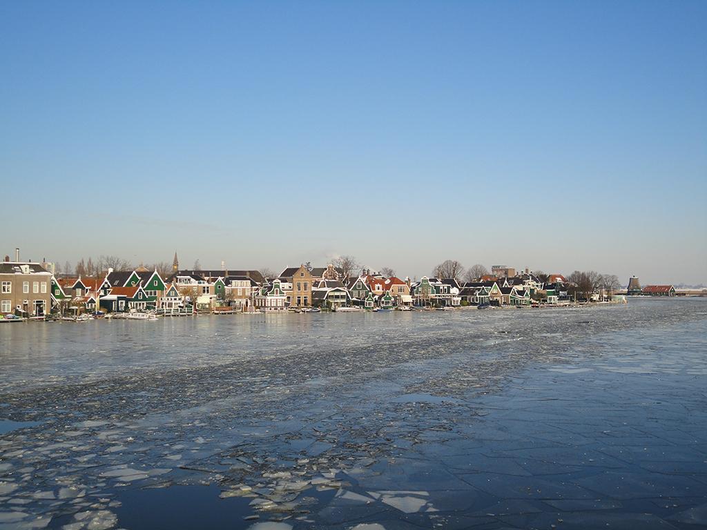Zaanse Schans congelado