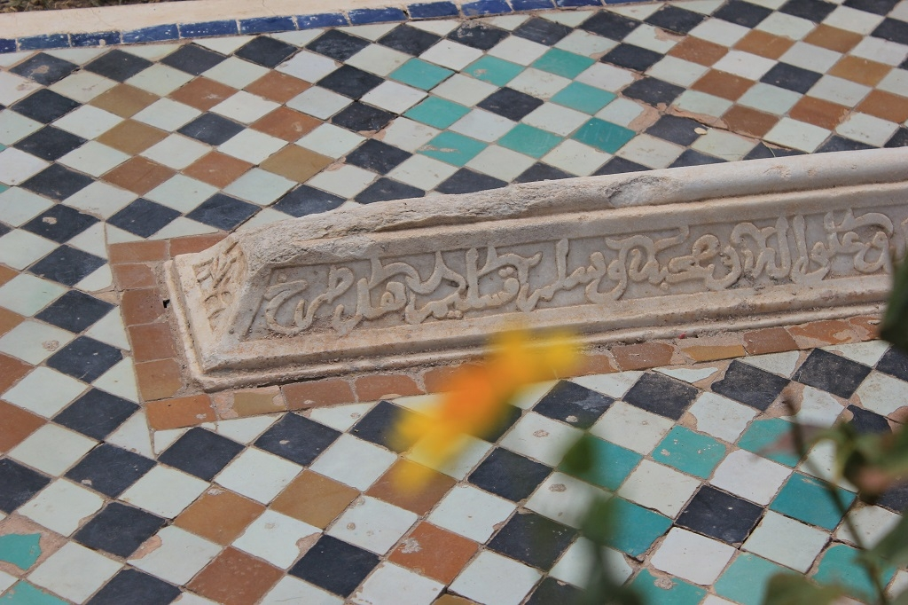 Detalle de las tumbas Saadies