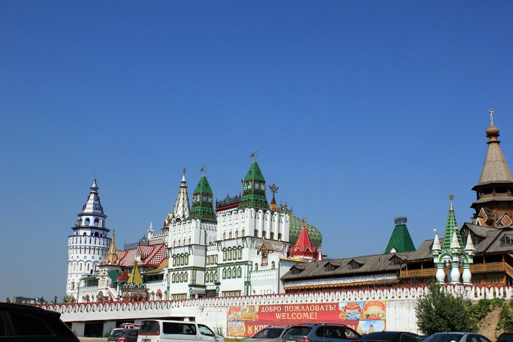 Edificios del mercado de Izmailovo