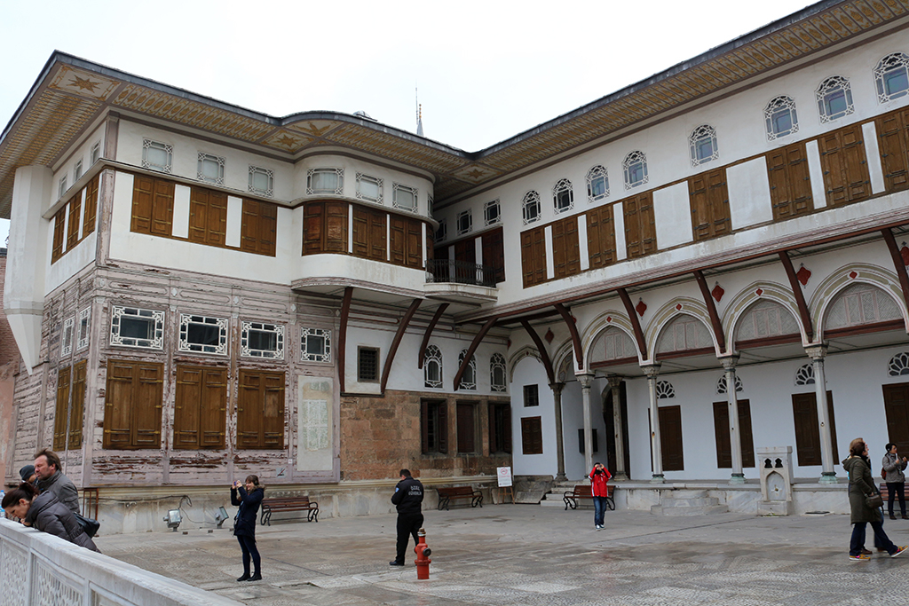 Edificios del palacio Topkapi