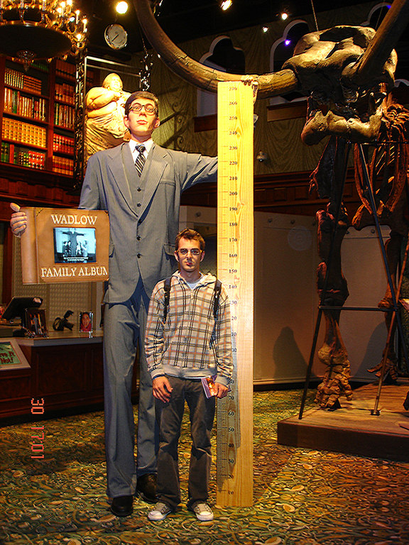 El hombre mas alto del mundo vs Aitor