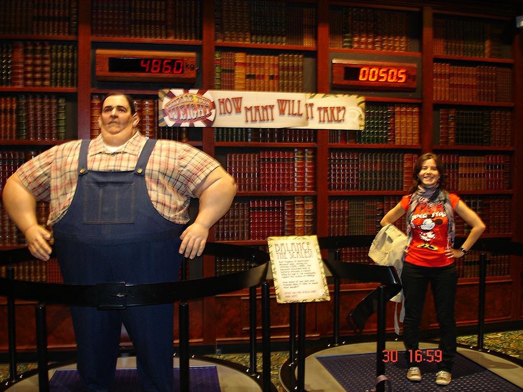 El hombre mas gordo vs Henar
