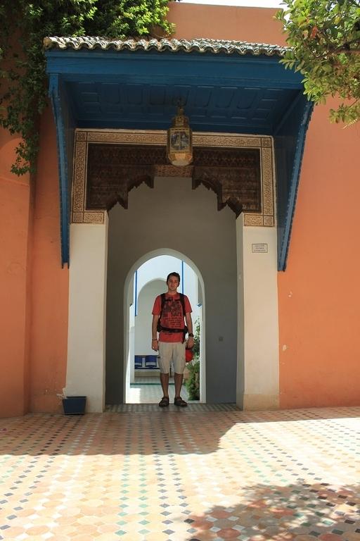 Entrada Palacio Bahia en Marrakech