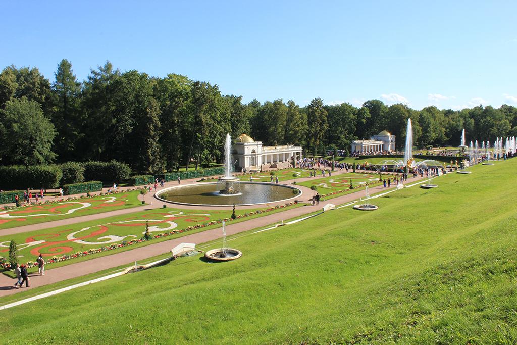 Jardines bajos Peterhof