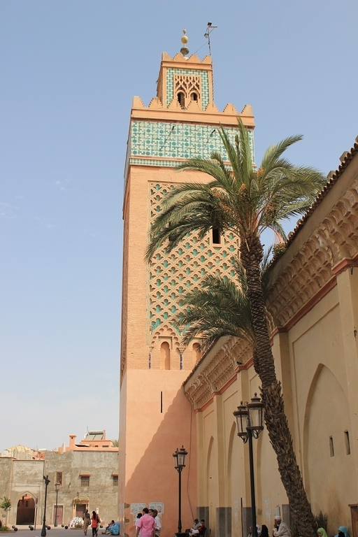 Exterior tumbas Saadies - Marrakech