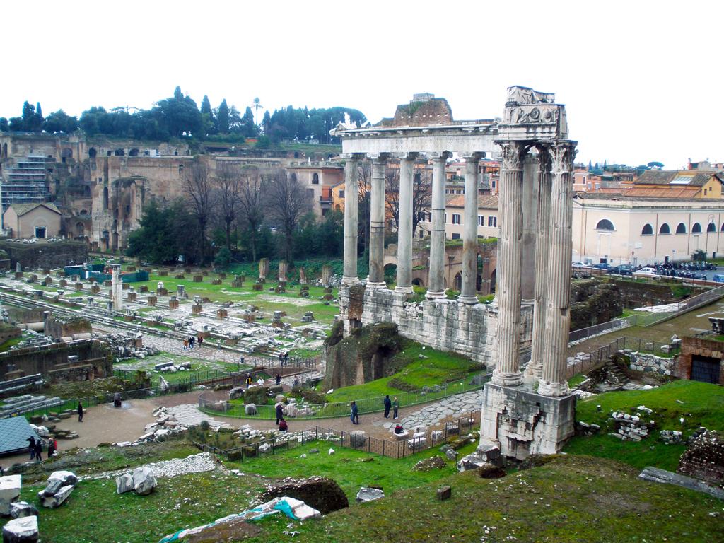 Foro romano - Templo de Neptuno