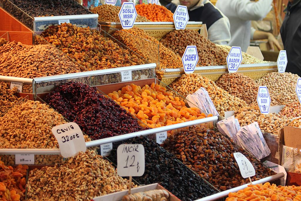 Frutos secos Estambul