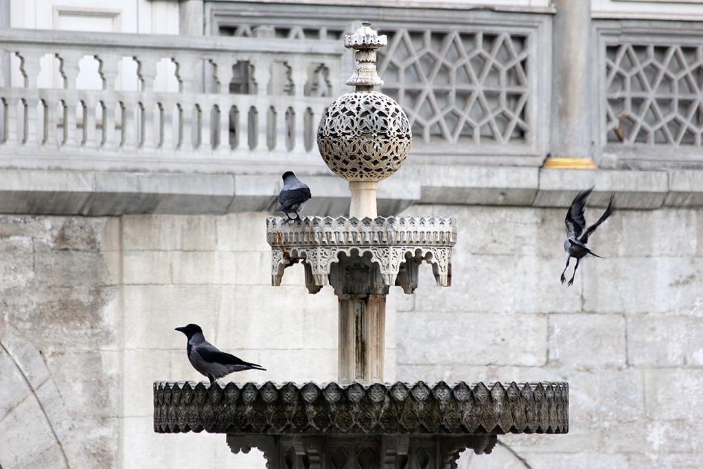 Fuente en el palacio Topkapi
