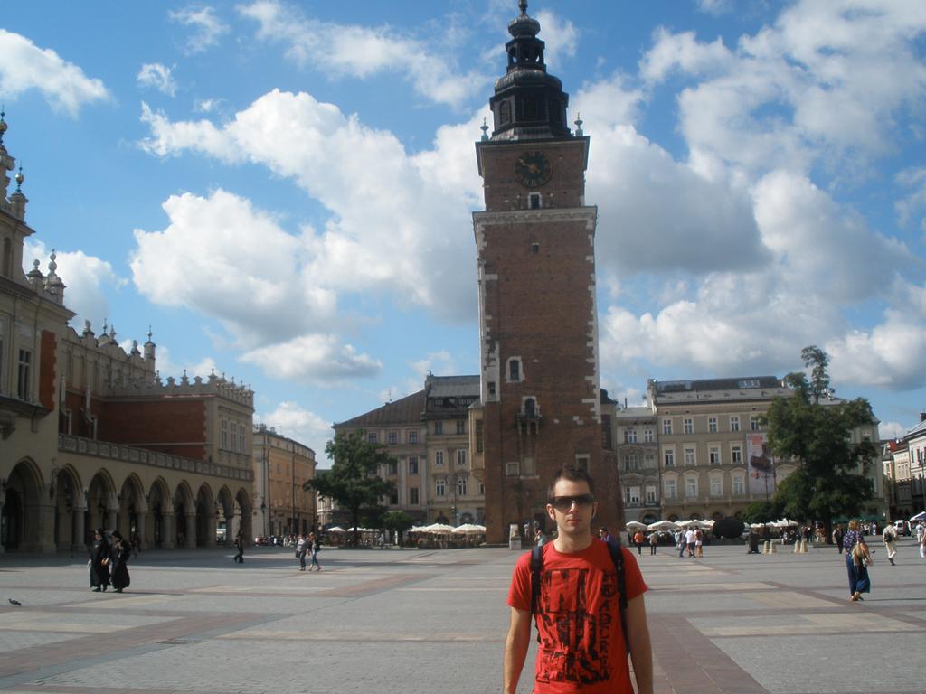 Gran Torreon del antiguo ayuntamiento de Cracovia