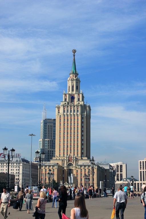 Grandes edificios de Moscu