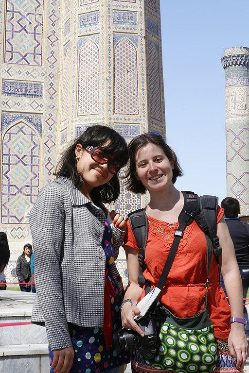 Henar con una chica uzbeka