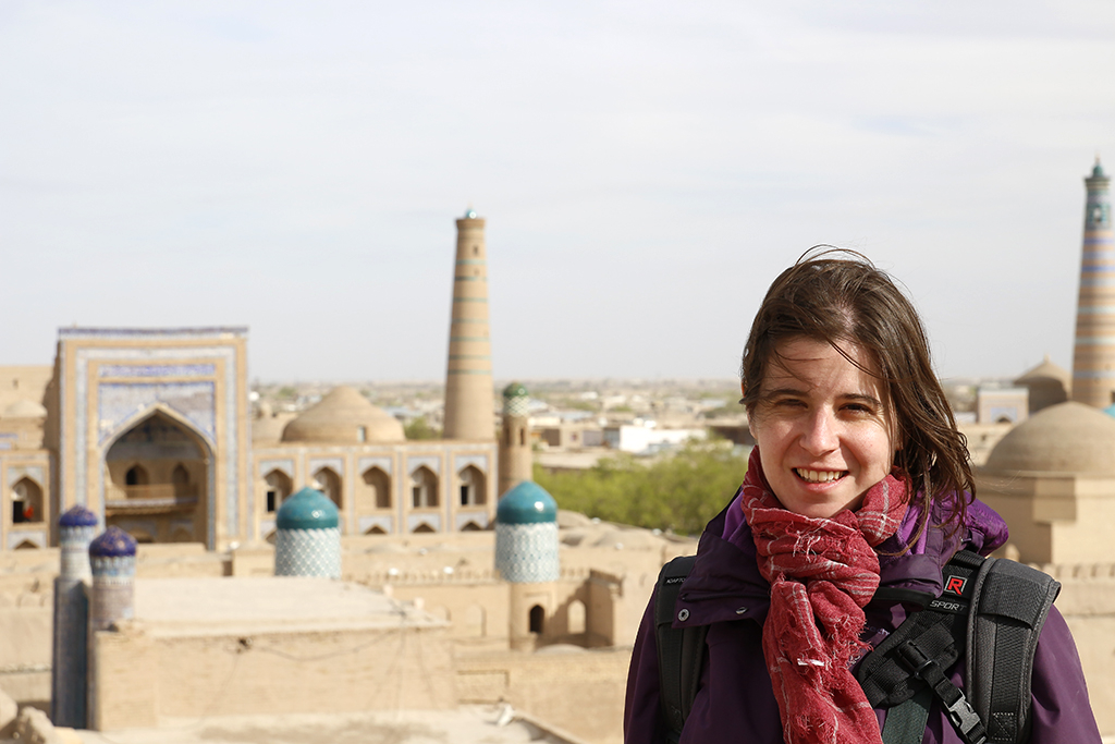 Henar en lo mas alto de Khiva