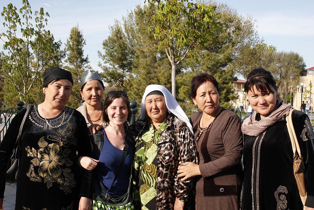 Henar y sus amigas uzbekas