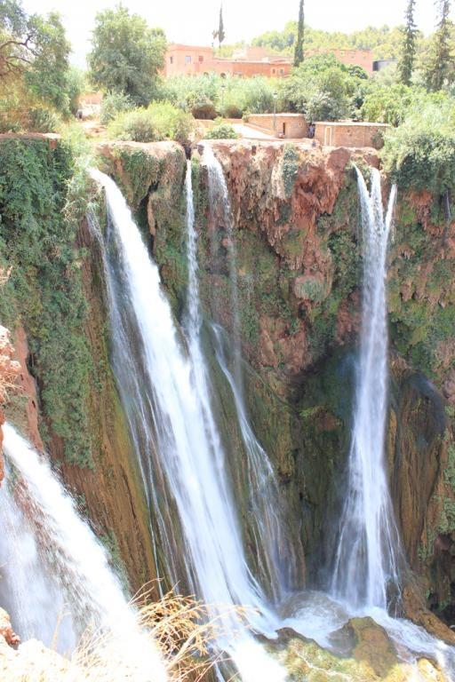 Cascadas de Ouzoud desde lo alto - Marruecos