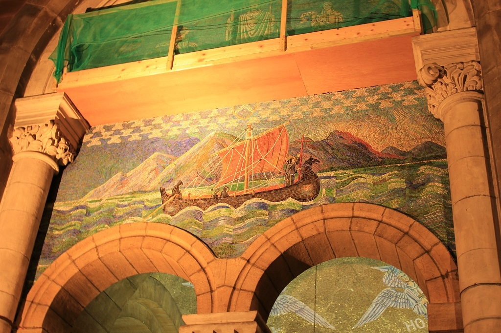 Mosaico de Saint Patrick - Catedral de Santa Ana