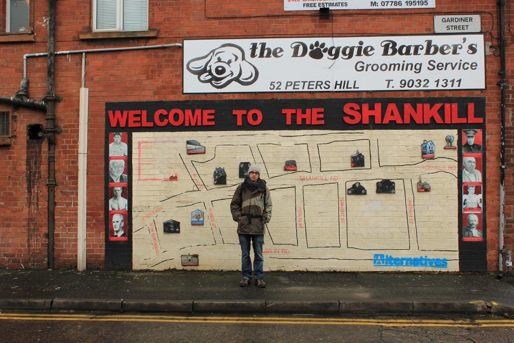 murales de belfast en Shankill