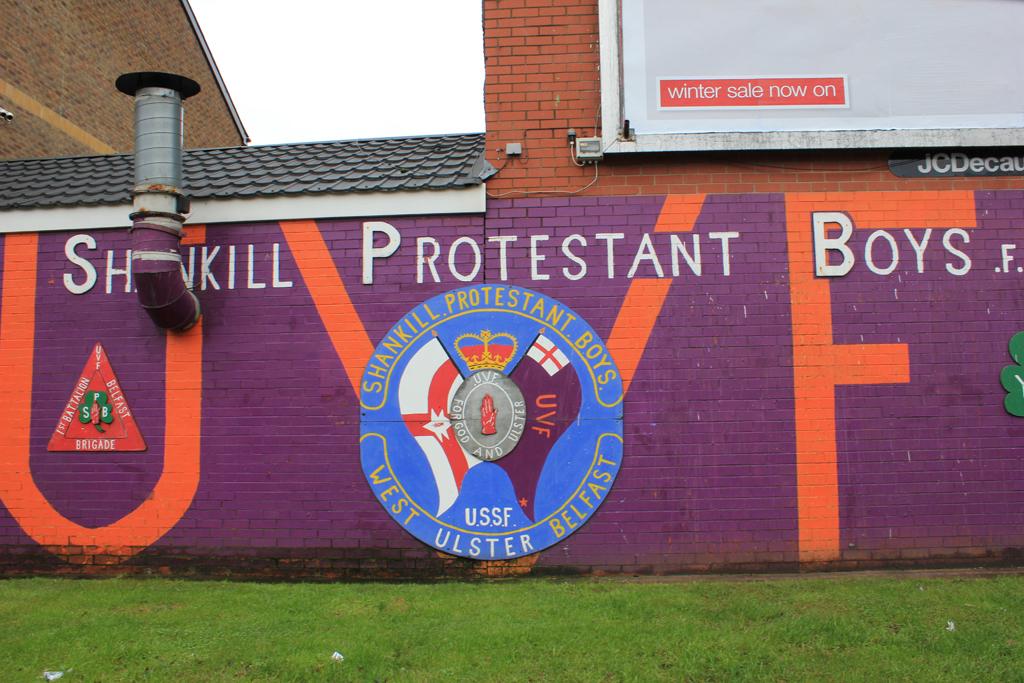 Shankill protestant boys