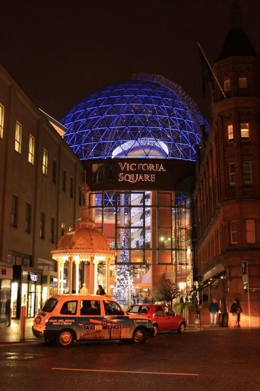 Victoria square en Belfast