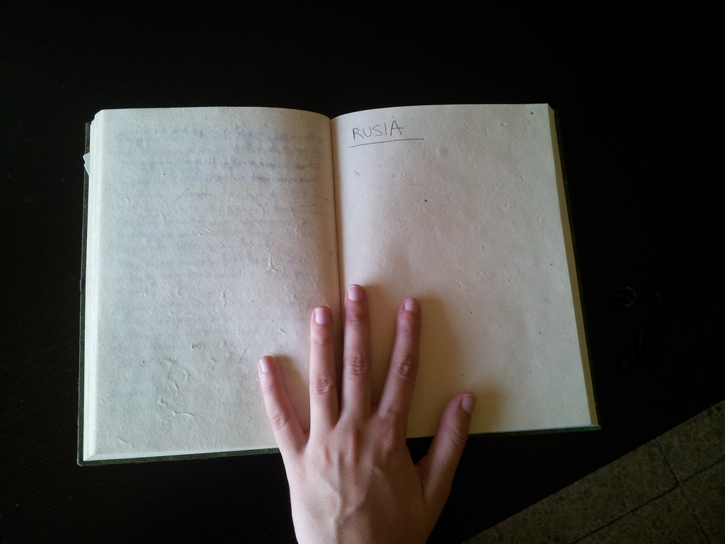 Cuaderno viaje Rusia