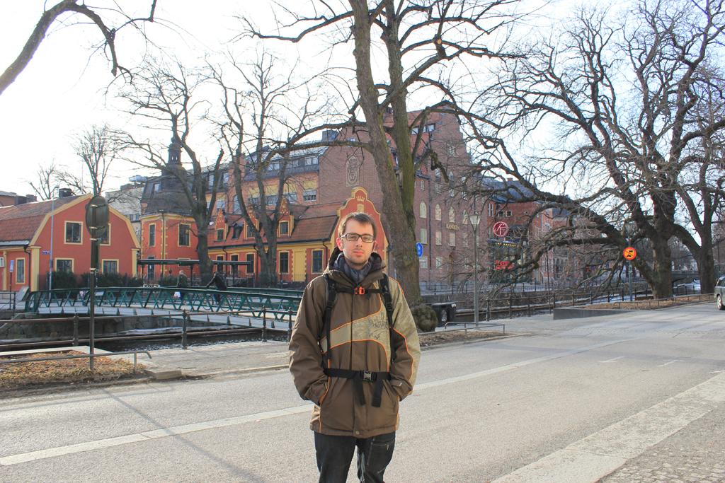 Junto al canal de Uppsala