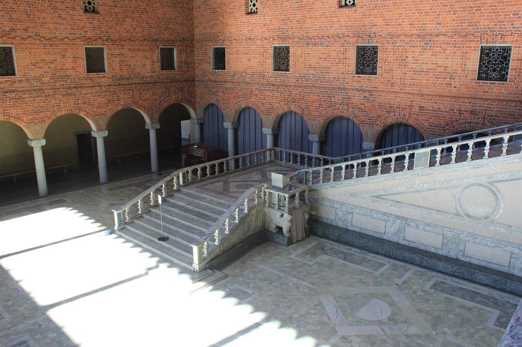 Escalinata de la Sala Azul