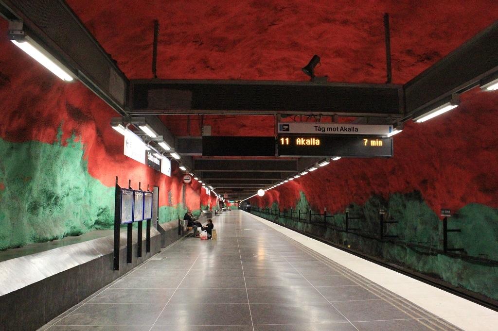 Solna Centrum - metro Estocolmo