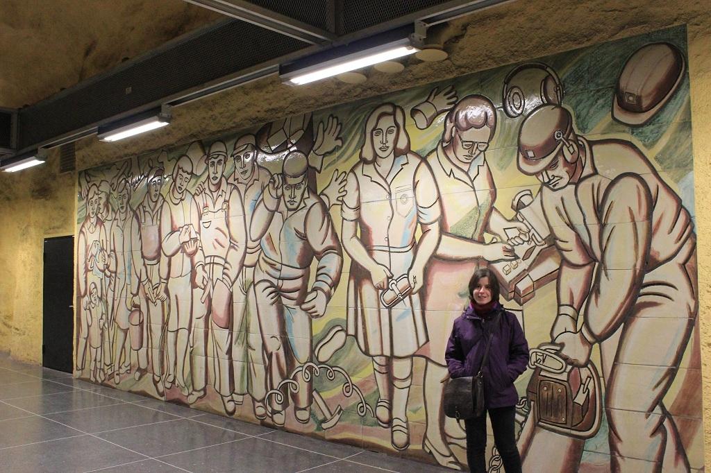 Husby - metro Estocolmo