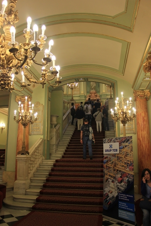 Escalinata principal - Liceu
