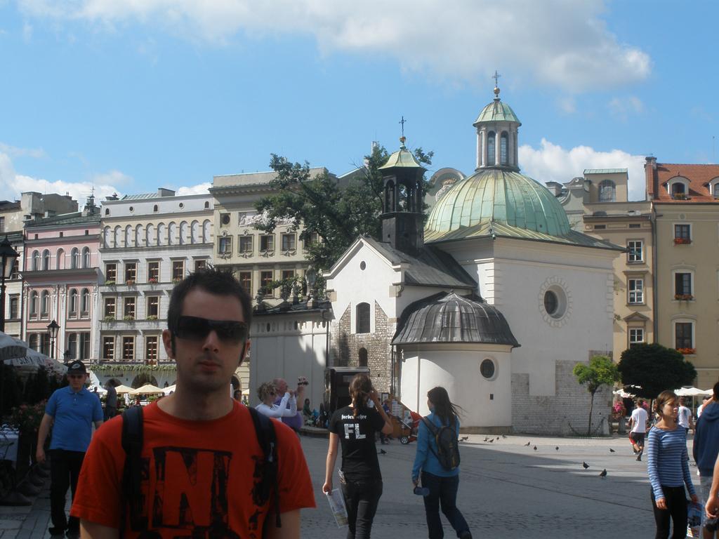 Iglesia de San Adalberto en Cracovia