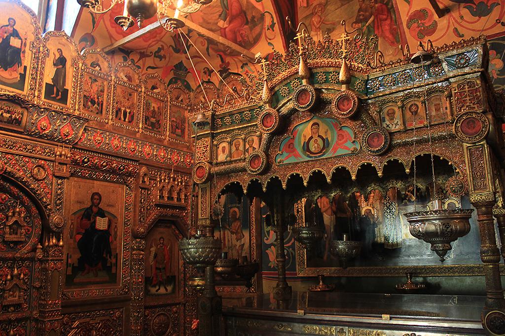 Interior catedral Moscú