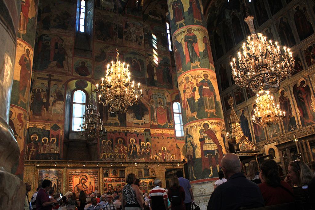 Interior de la catedral de la Asunción