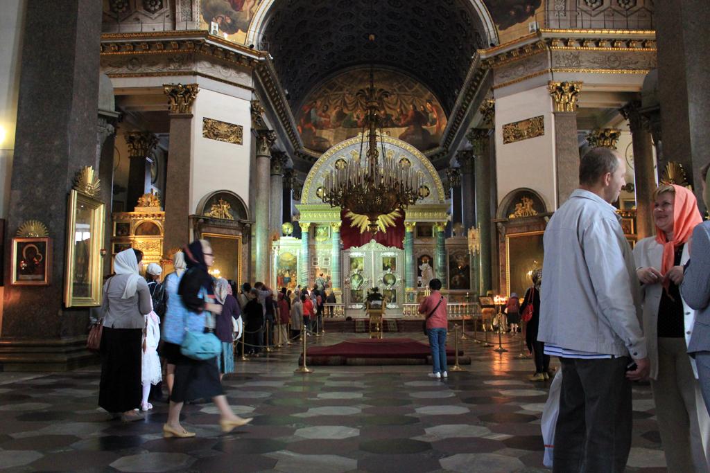 Interior catedral de Kazan