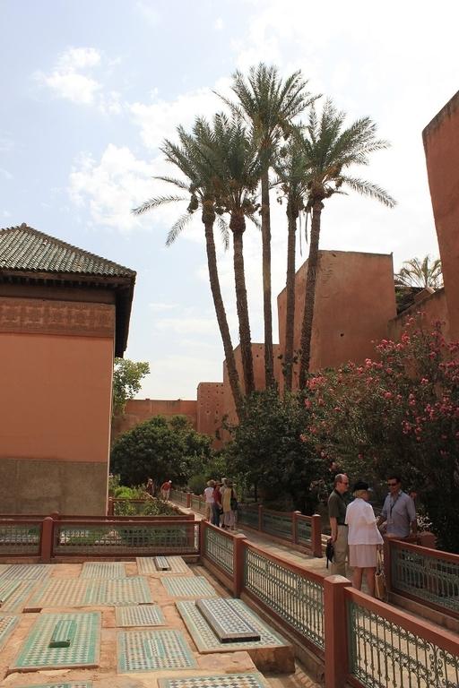 Jardin con las tumbas Saadies